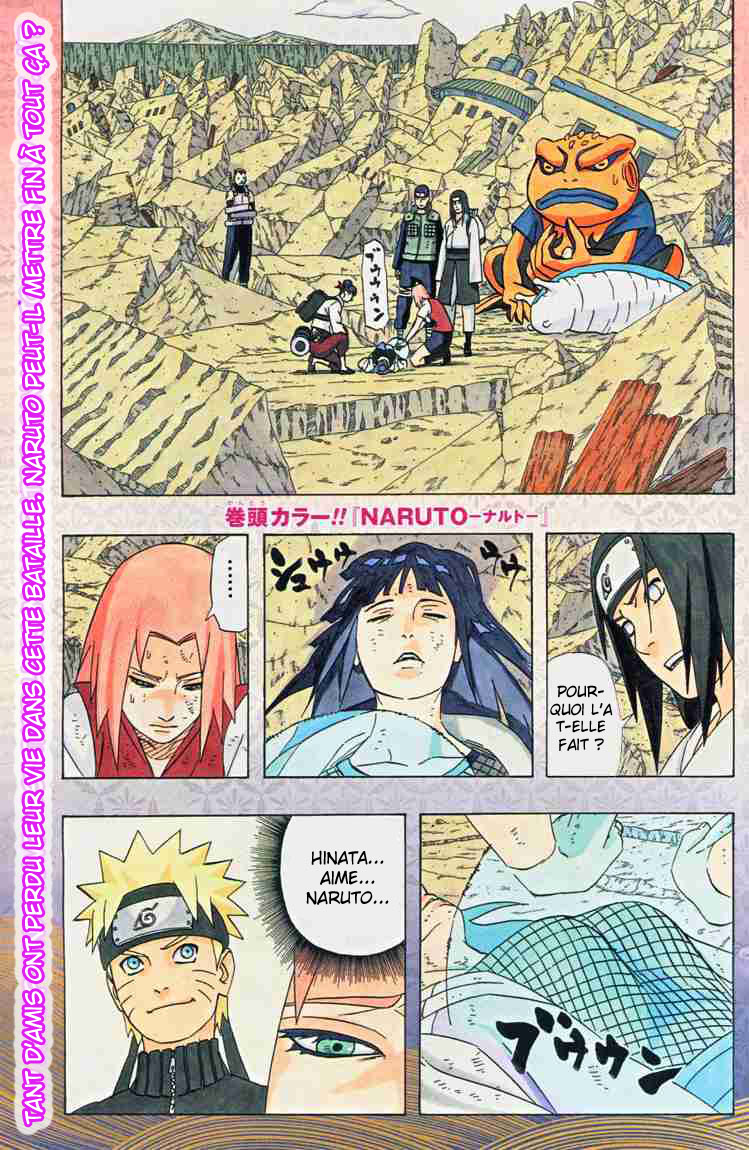 Chapitre Scan Naruto 442 FR Page 01