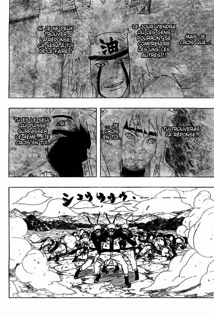 Chapitre Scan Naruto 442 FR Page 14