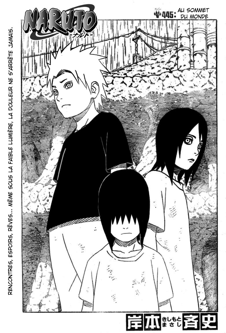 Chapitre Scan Naruto 445 FR 01