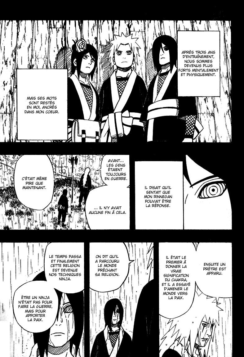 Chapitre Scan Naruto 446 FR Page 09