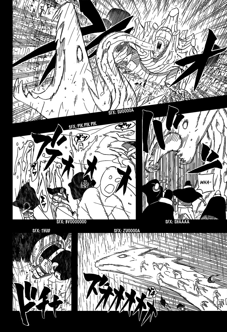 Chapitre Scan Naruto 447 FR Page 10