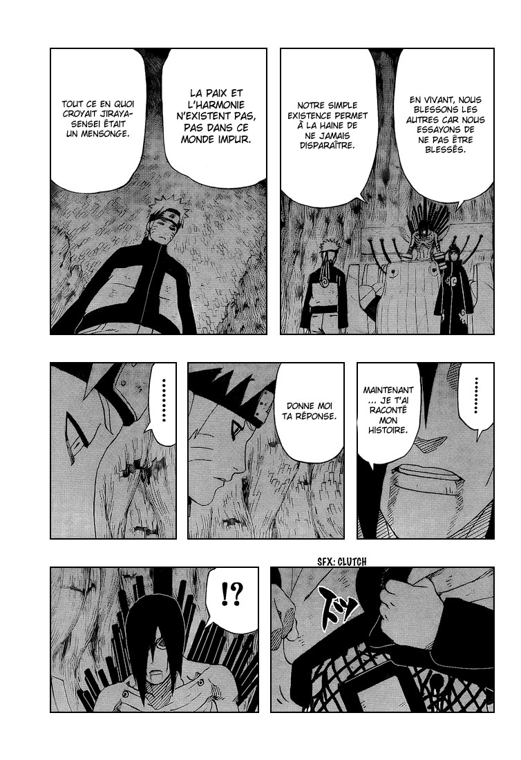 Chapitre Scan Naruto 447 FR Page 15