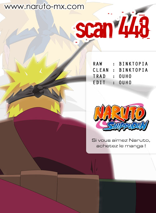 Chapitre Scan Naruto 448 FR Page 00