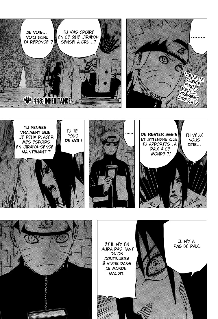 Chapitre Scan Naruto 448 FR Page 03