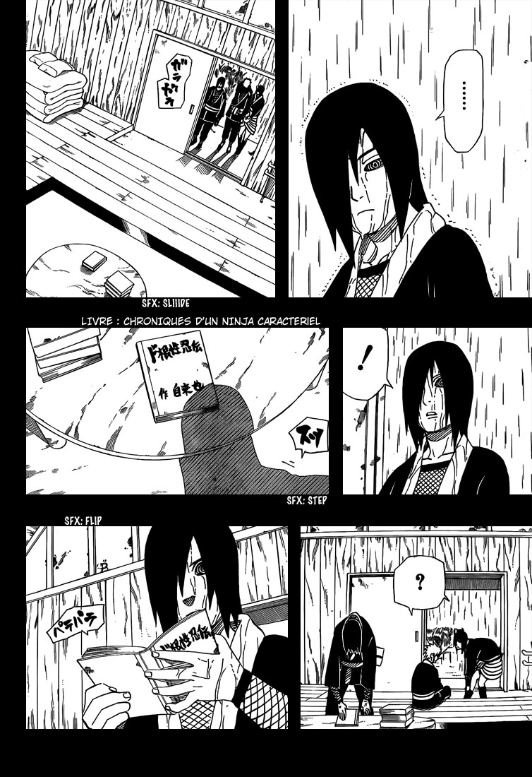 Chapitre Scan Naruto 448 FR Page 10