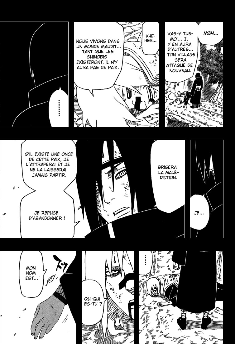 Chapitre Scan Naruto 448 FR Page 15
