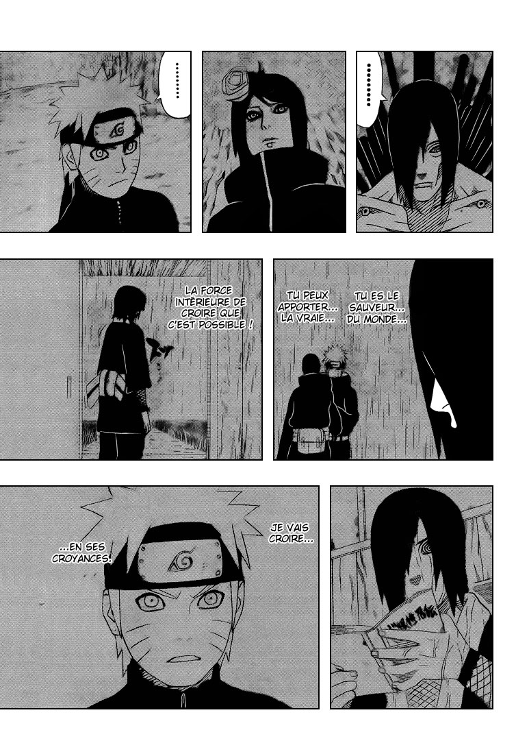 Chapitre Scan Naruto 448 FR Page 17
