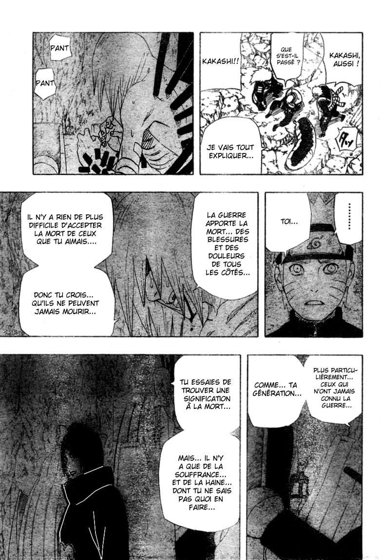 Chapitre Scan Naruto 449 FR Page 11