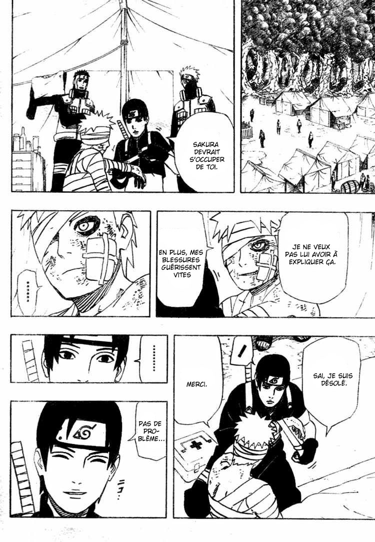 Chapitre Scan Naruto 455 FR page 10