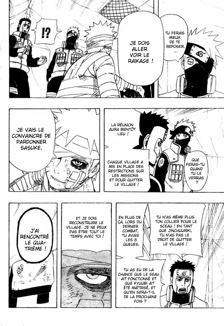 Chapitre Scan Naruto 455 FR page 12