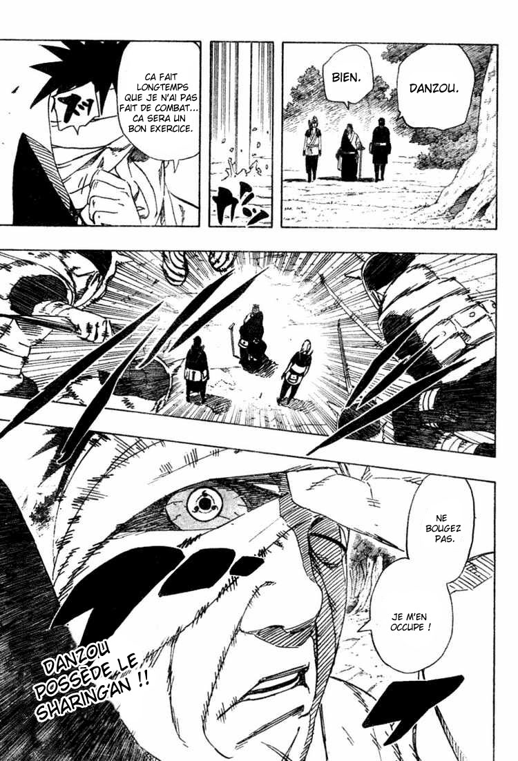 Chapitre Scan Naruto 455 FR page 17