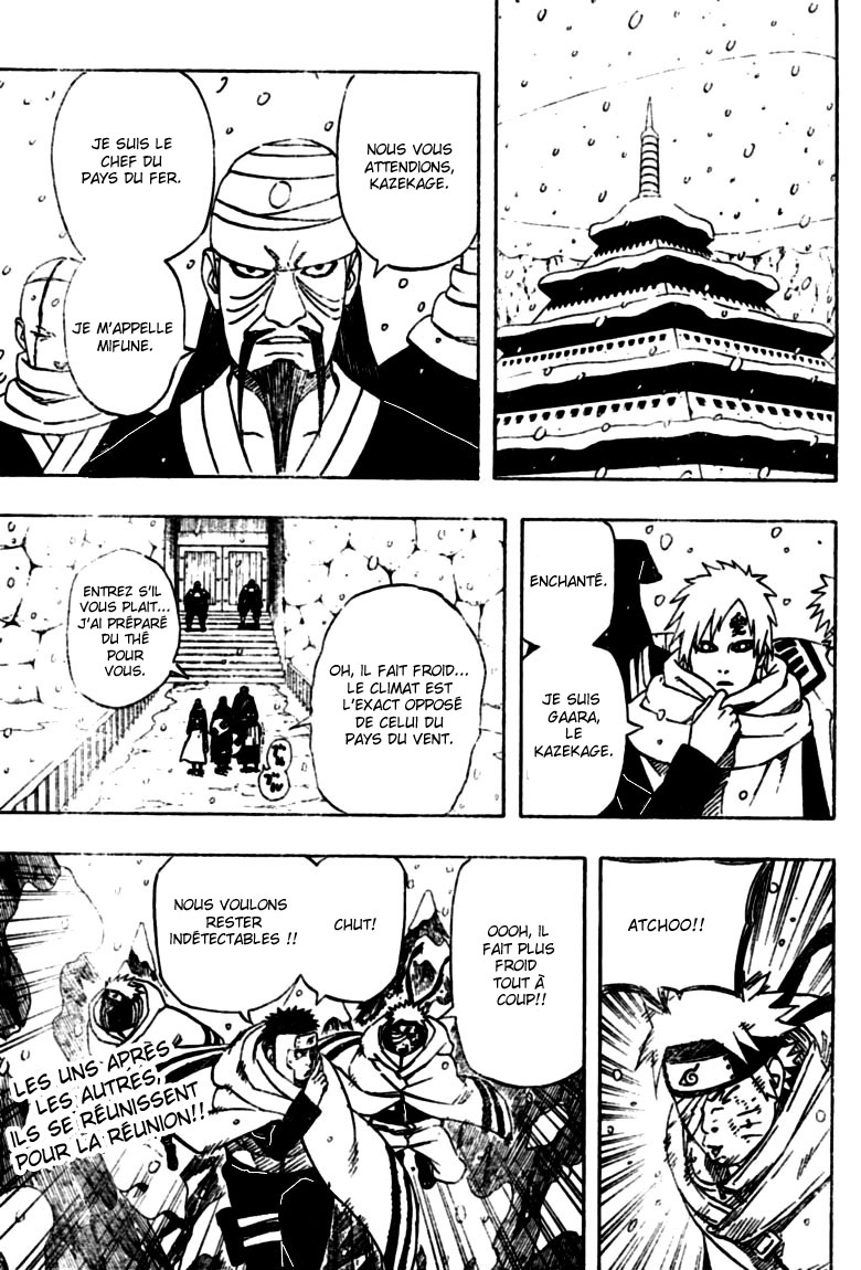 Chapitre Scan Naruto 456 FR Page 17