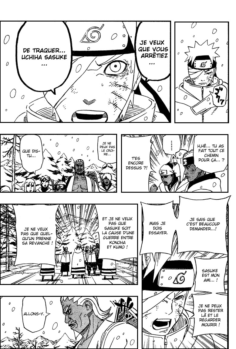 Chapitre Scan Naruto 457 FR Page 08
