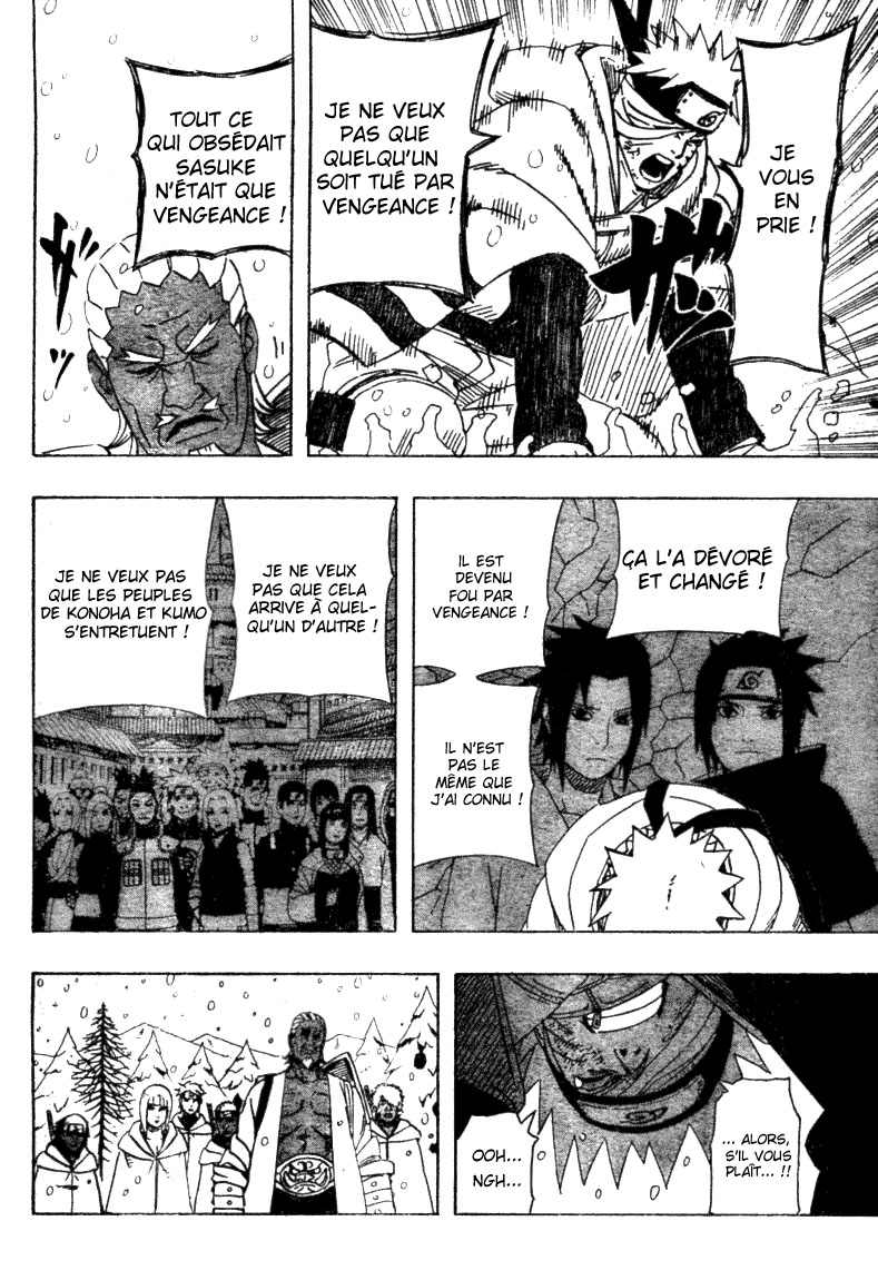 Chapitre Scan Naruto 457 FR Page 09