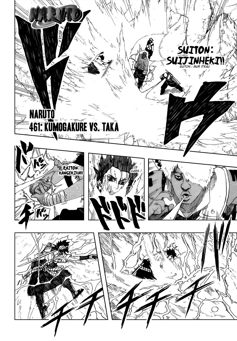 Chapitre Scan Naruto 461 FR Page 02