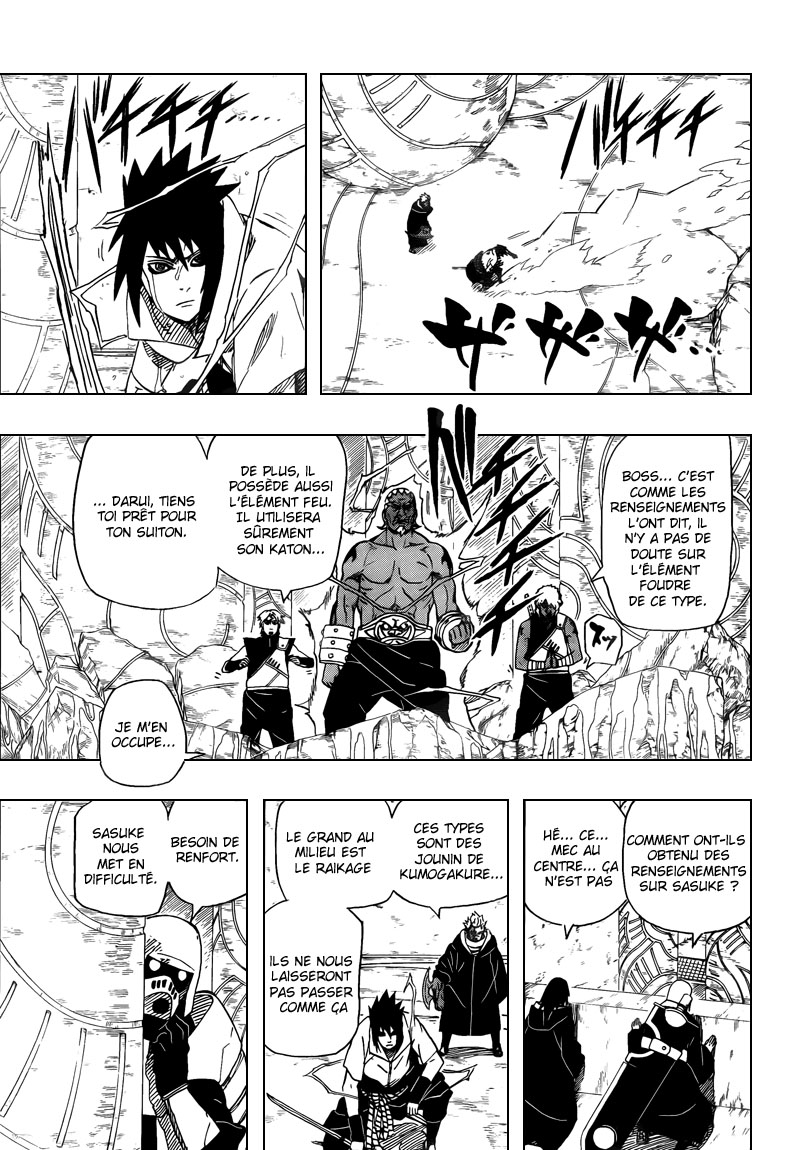 Chapitre Scan Naruto 461 FR Page 03