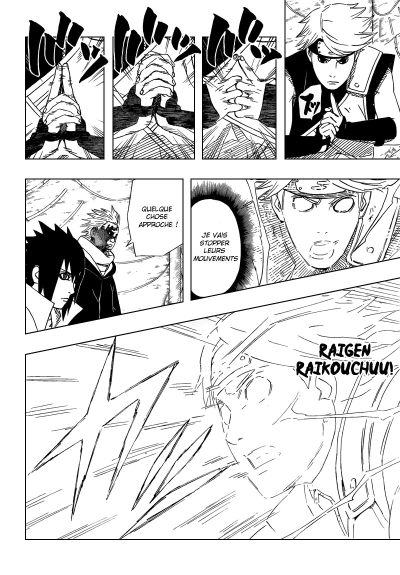 Chapitre Scan Naruto 461 FR Page 04