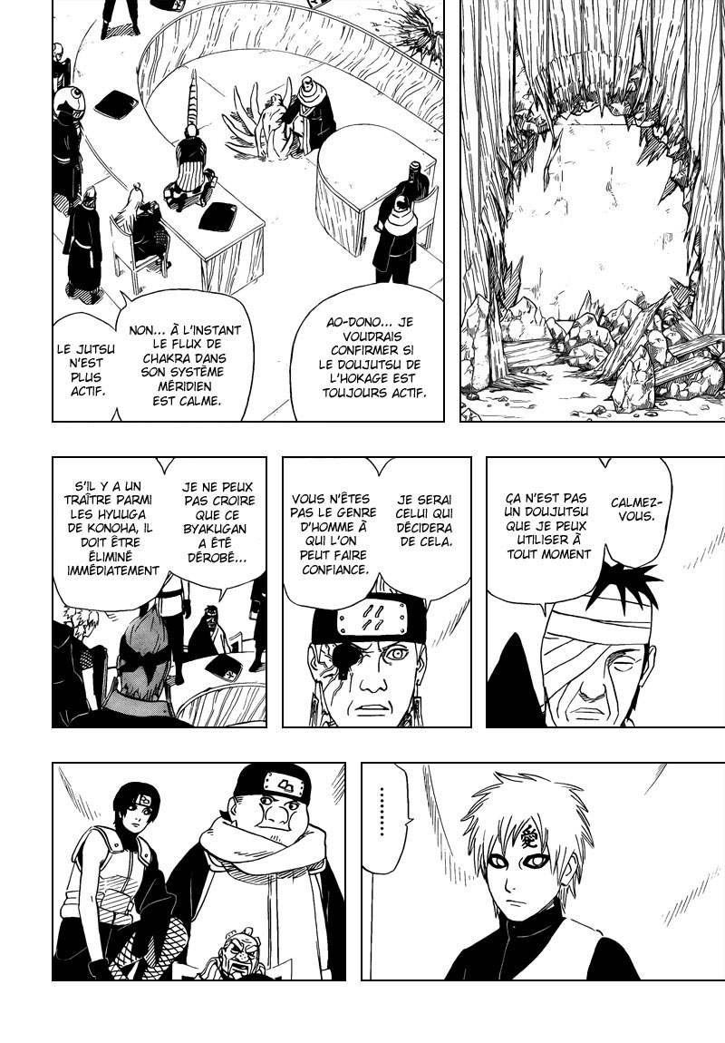 Chapitre Scan Naruto 461 FR Page 10