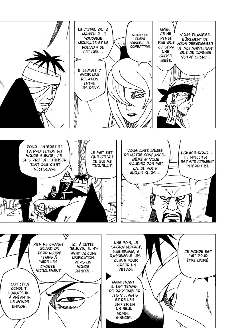 Chapitre Scan Naruto 461 FR Page 11