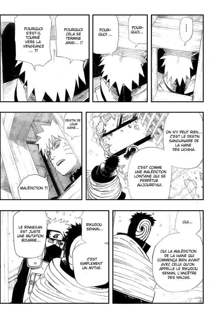 Chapitre Scan Naruto 462 FR Page 11