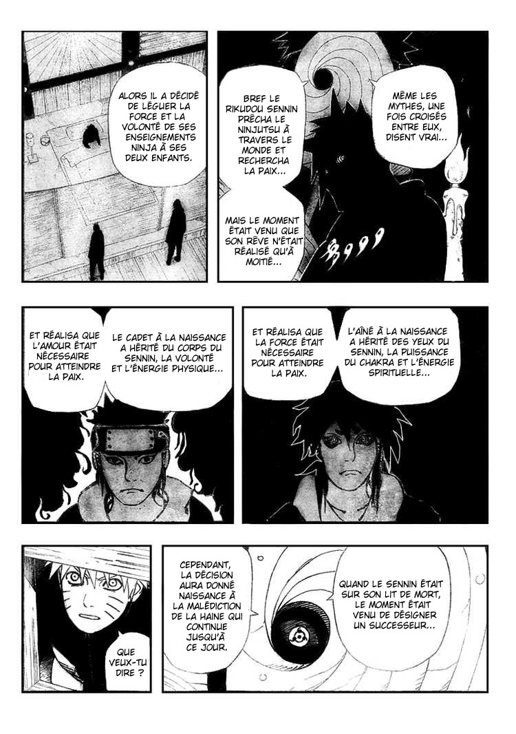 Chapitre Scan Naruto 462 FR Page 12