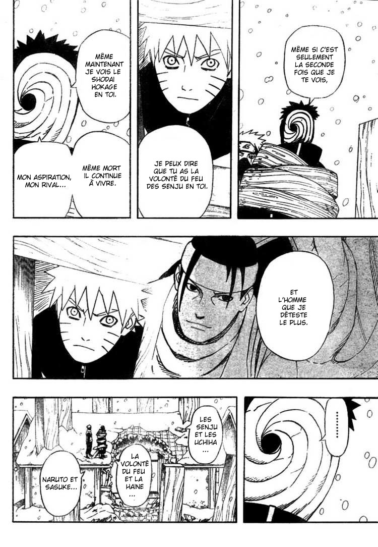 Chapitre Scan Naruto 462 FR Page 14