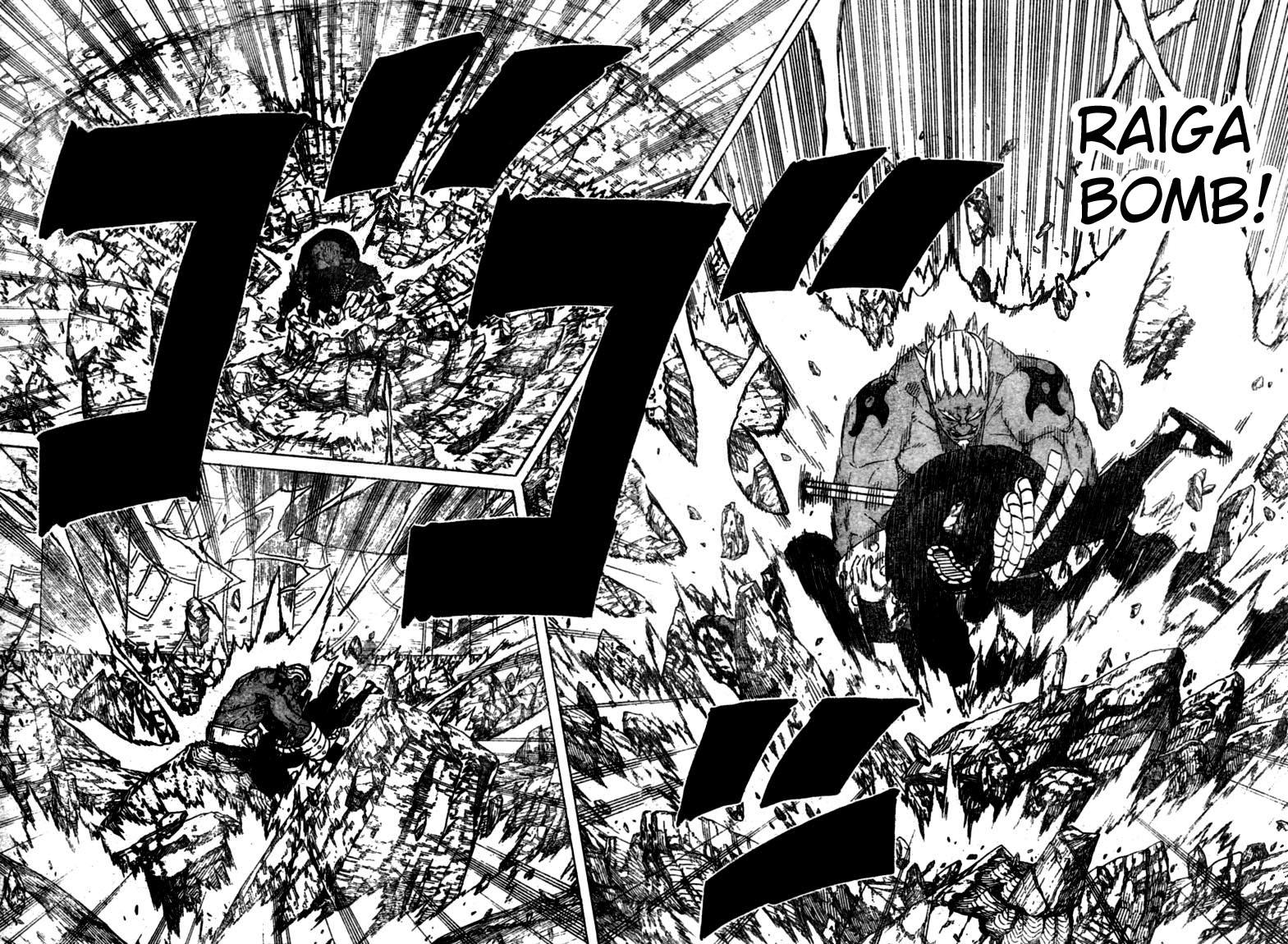 Chapitre Scan Naruto 463 FR Page 04