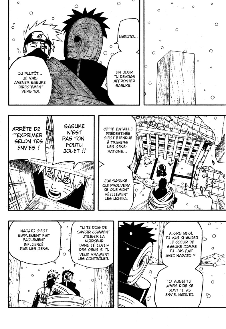 Chapitre Scan Naruto 463 FR Page 09