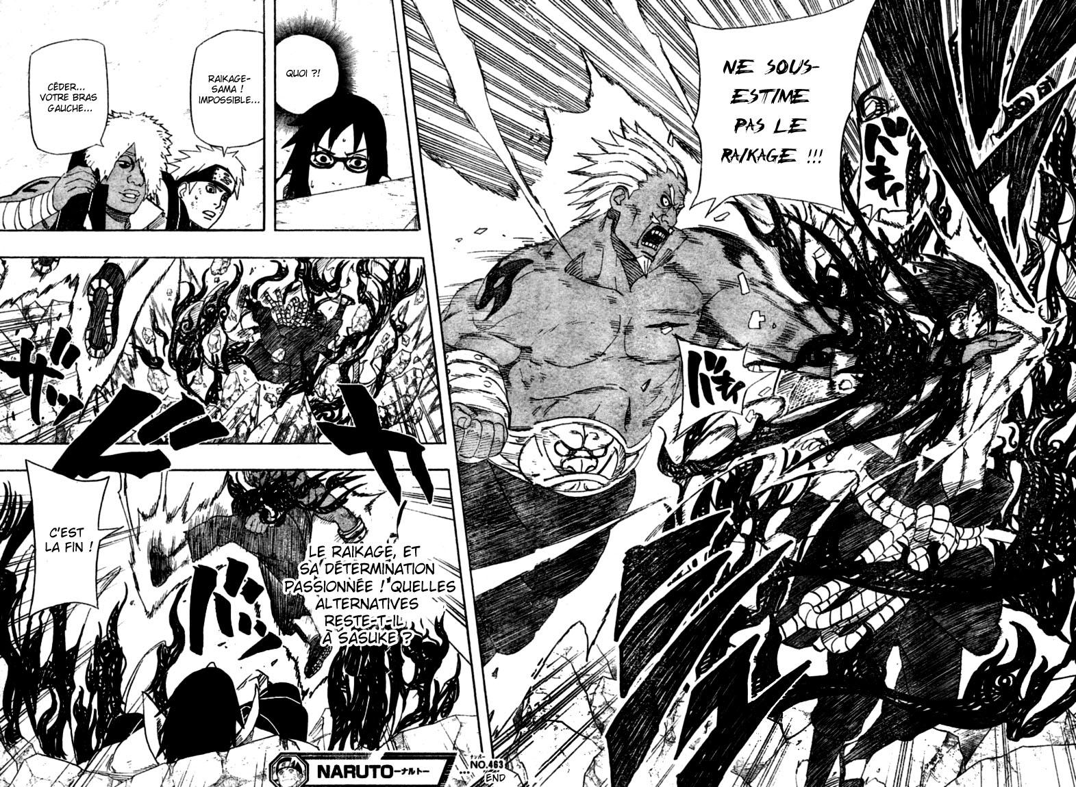 Chapitre Scan Naruto 463 FR Page 15