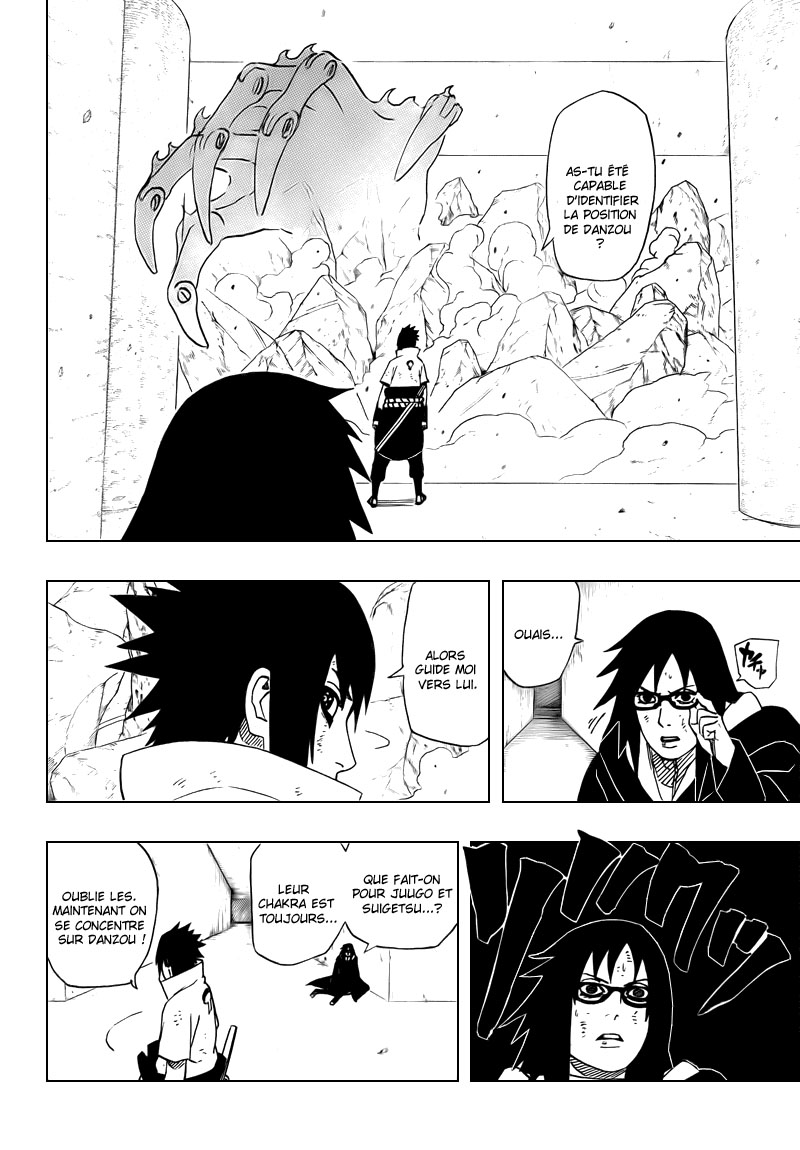 Chapitre Scan Naruto 465 FR Page 06