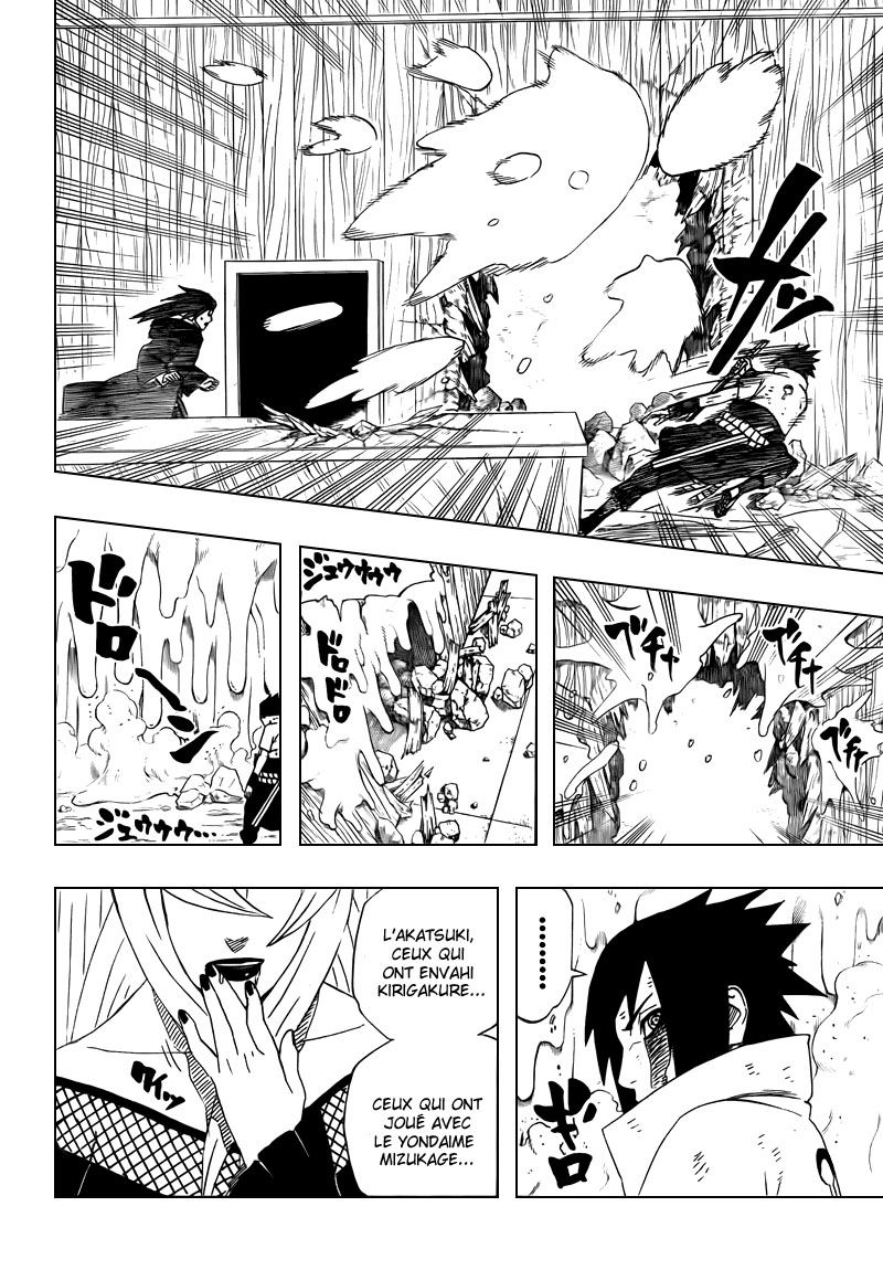 Chapitre Scan Naruto 465 FR Page 16