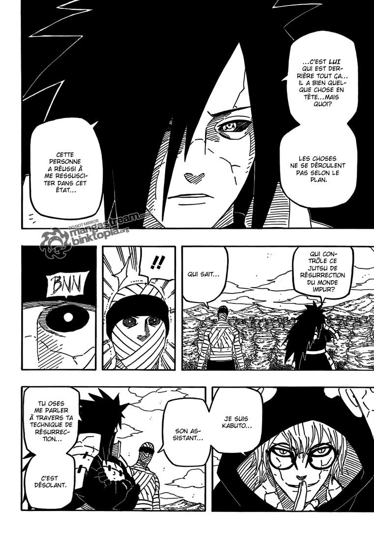 Chapitre Scan Naruto 560 VF Page 03