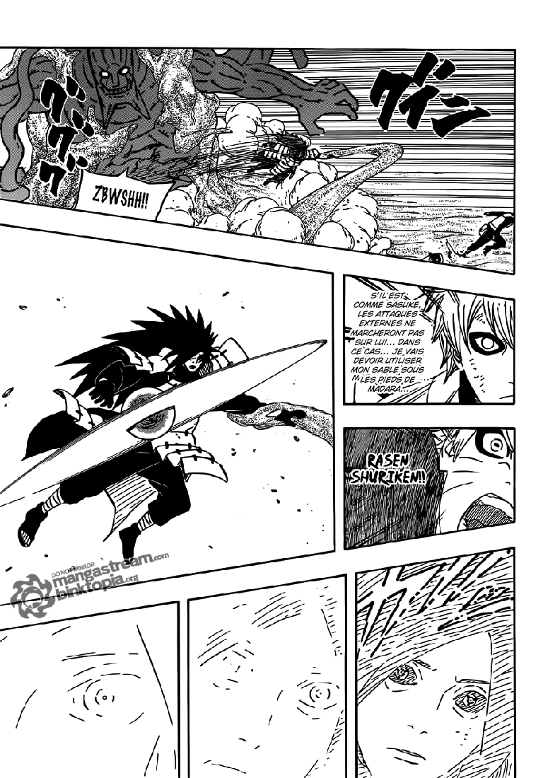 Chapitre Scan Naruto 560 VF Page 14