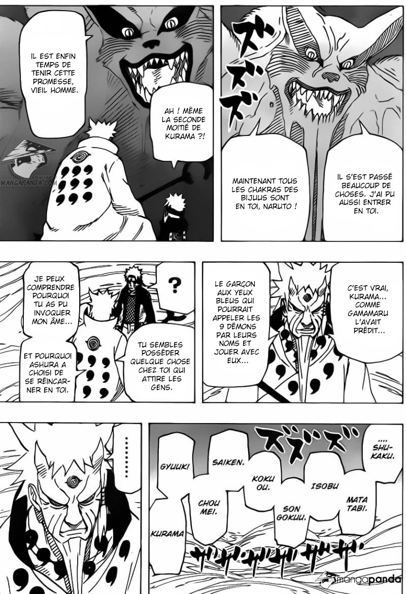Chapitre Scan Naruto 671 VF Page 12