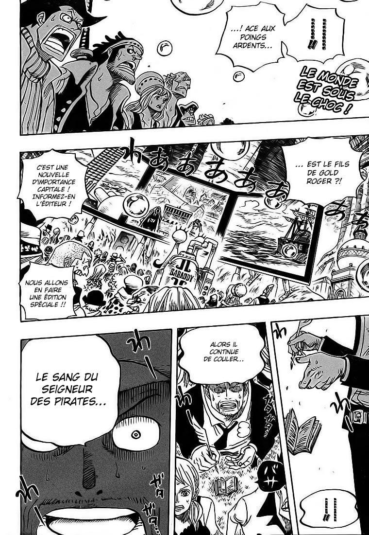 Chapitre Scan One Piece 551 FR Page 02